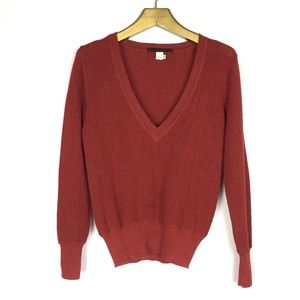 PERUVIAN CONNECTION Alpha Wool V-Neck Sweater \ XS